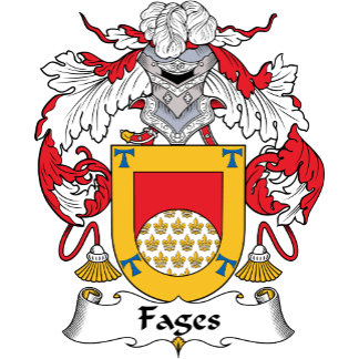 Fages Family Crest