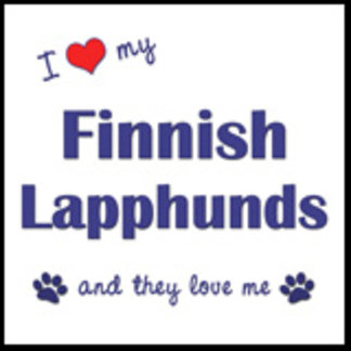 I Love My Finnish Lapphunds (Multiple Dogs)