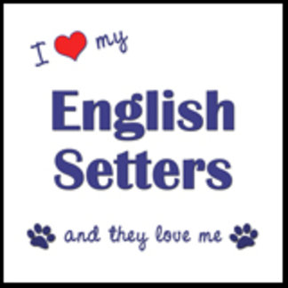 I Love My English Setters (Multiple Dogs)