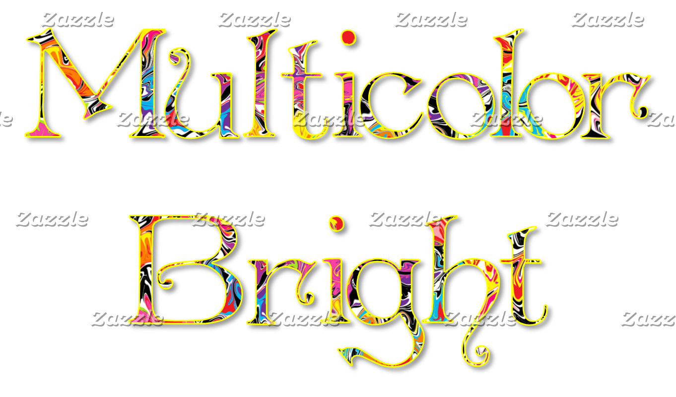 Multicolored Bright