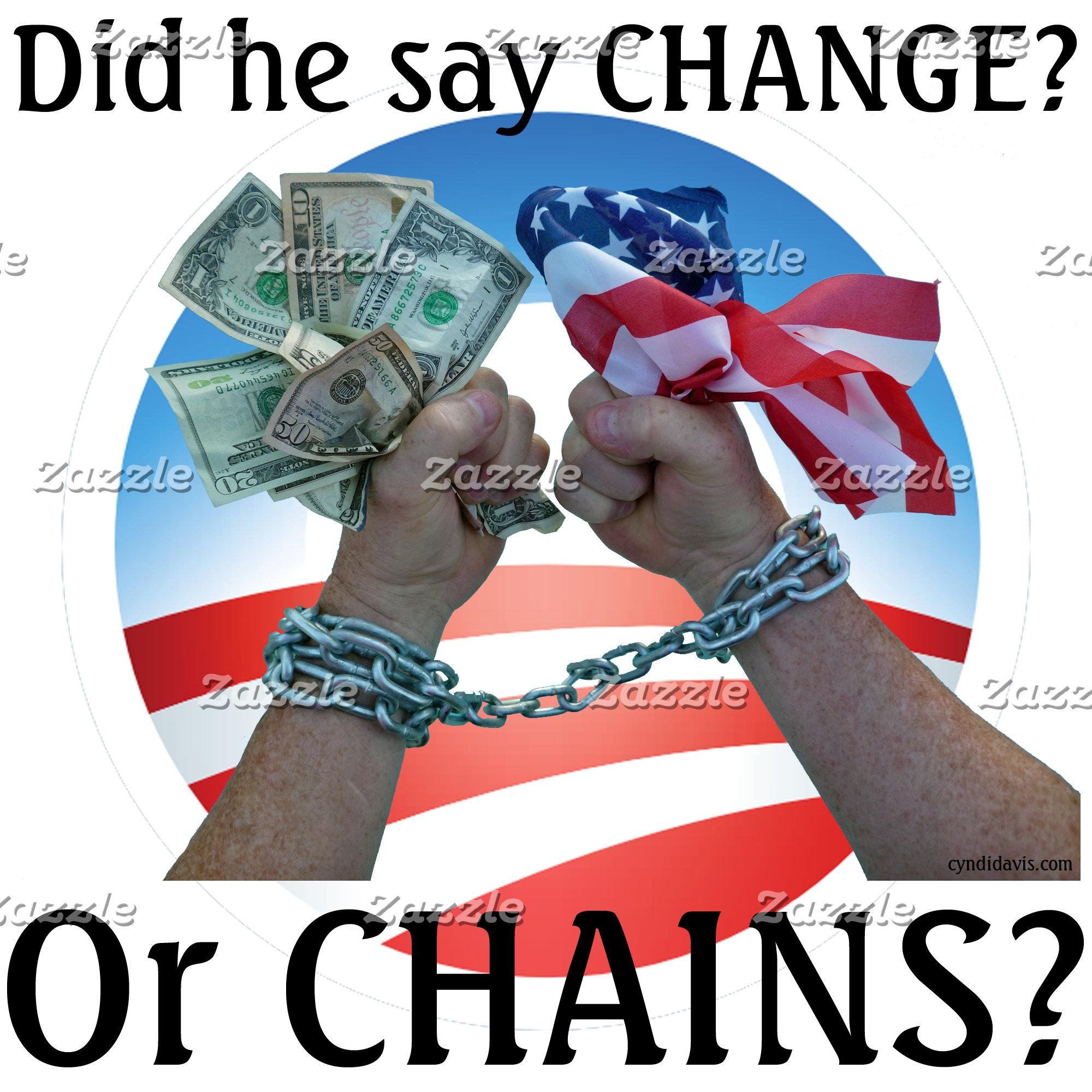 Did he say CHANGE?