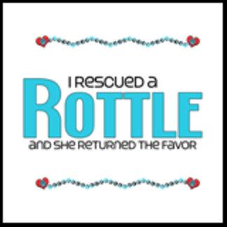 I Rescued a Rottle (Female Dog)