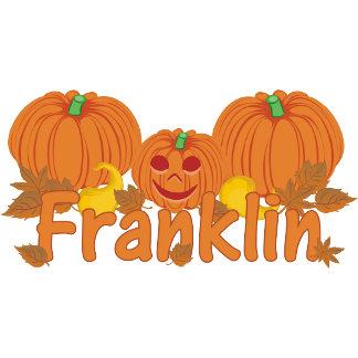 Little Pumpkin Franklin features an adorable baby