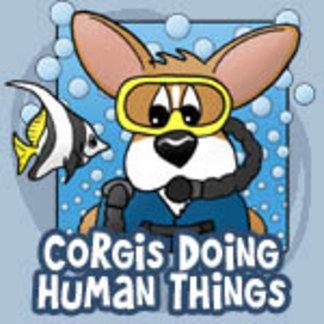 Corgis Doing Human Things