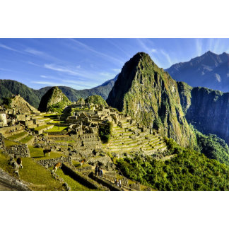 Ancient Machu Picchu, last refuge of the