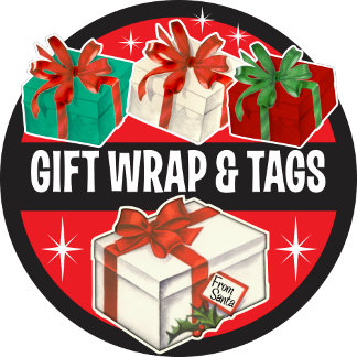 Wrapping Paper + Tags