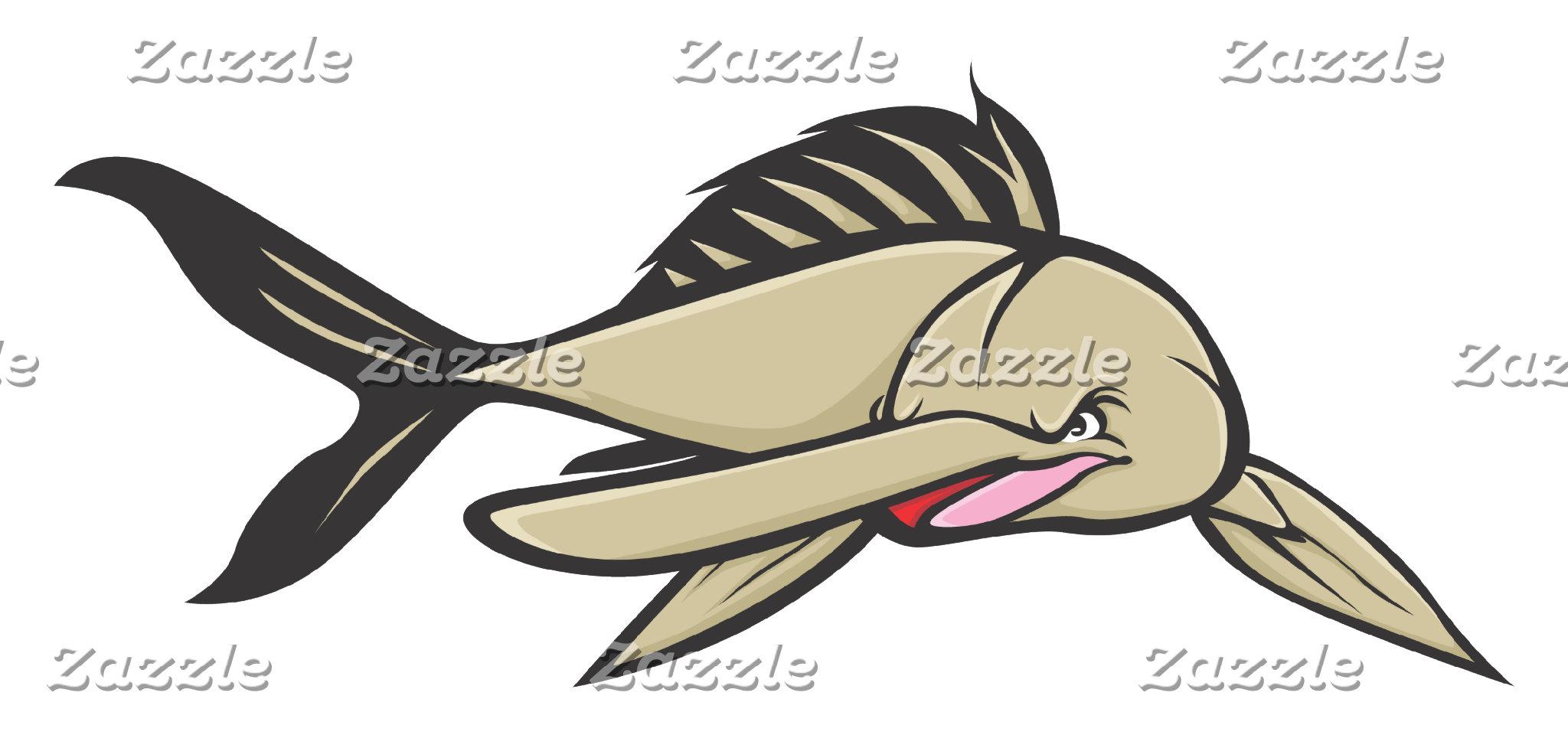 Angry Chinese Paddlefish