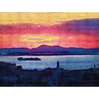 Florence Italy Sunset Art Decor and Accessories