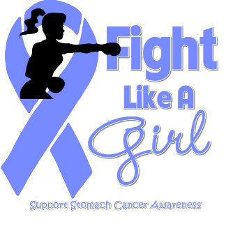 Stomach Cancer Fight Like A Girl Knock Out