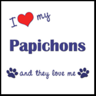 I Love My Papichons (Multiple Dogs)