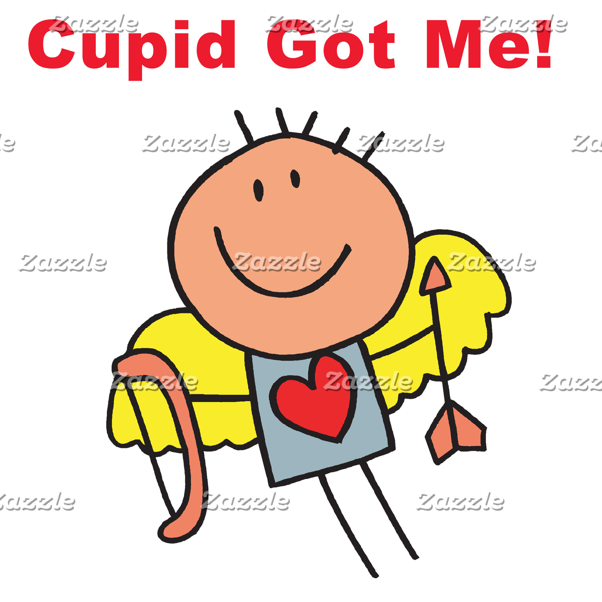 Cupid Tees, Valentines Stamps, Magnets, Mugs