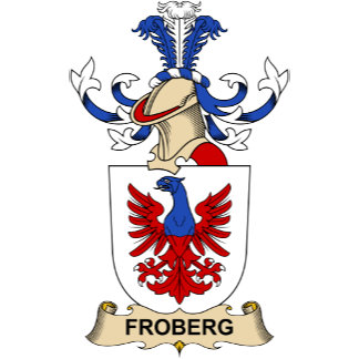 Froberg Family Crest