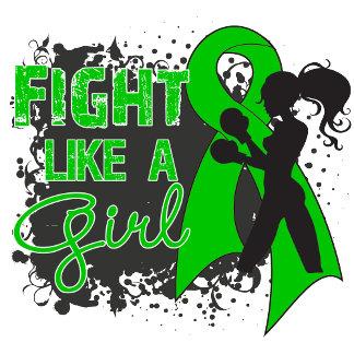 Cerebral Palsy Fight Like A Girl Grunge