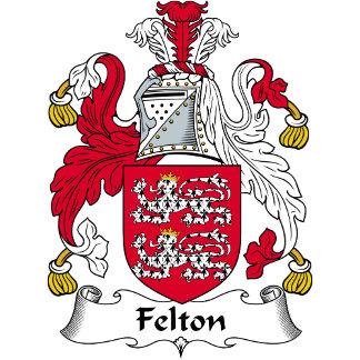 Felton Family Crest / Coat of Arms