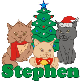 Christmas Cats Stephen