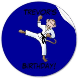 Custom Personalized Martial Arts