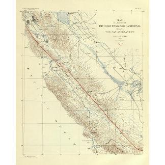 Coast Ranges showing San Andreas Rift