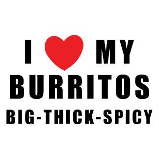 I Love Burritos T-Shirt Gift Cards