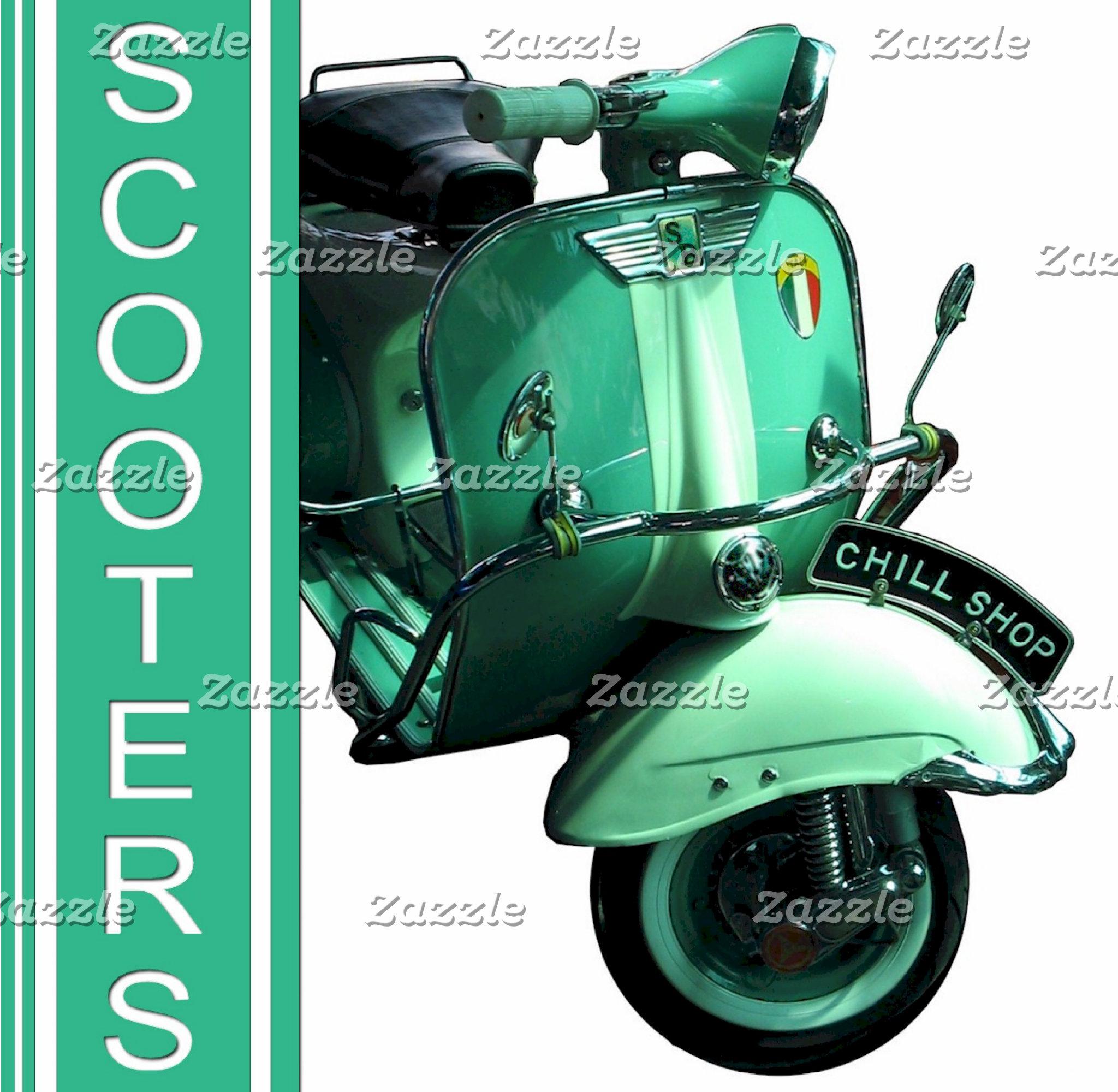 Vespa Scooter Chill Shop