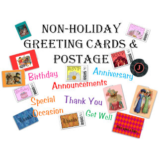 Non-Holiday Greeting Cards & Postage