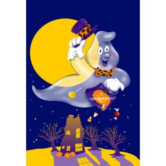 Halloween Cute Trick-or-Treat Ghost