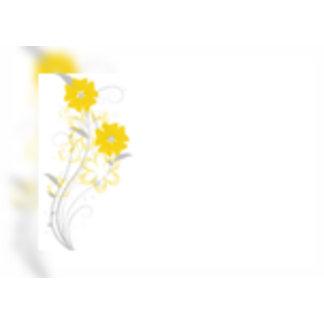 Budding Romance in Yellow