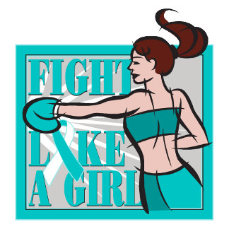 Cervical Cancer Fight Like A Girl Boxer