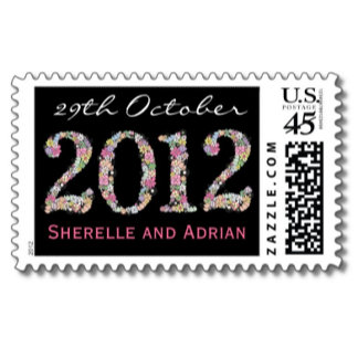 ♥ (4) WEDDING STAMPS