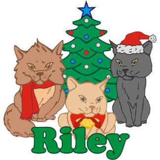 Christmas Cats Riley