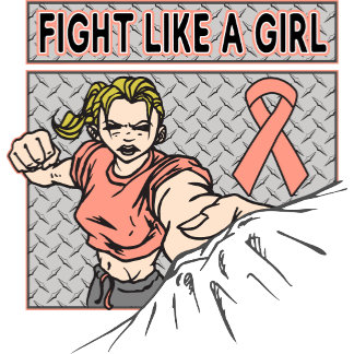 Endometrial Cancer Fight Like A Girl Punch