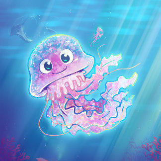 Cute Sea and Freshwater Animals