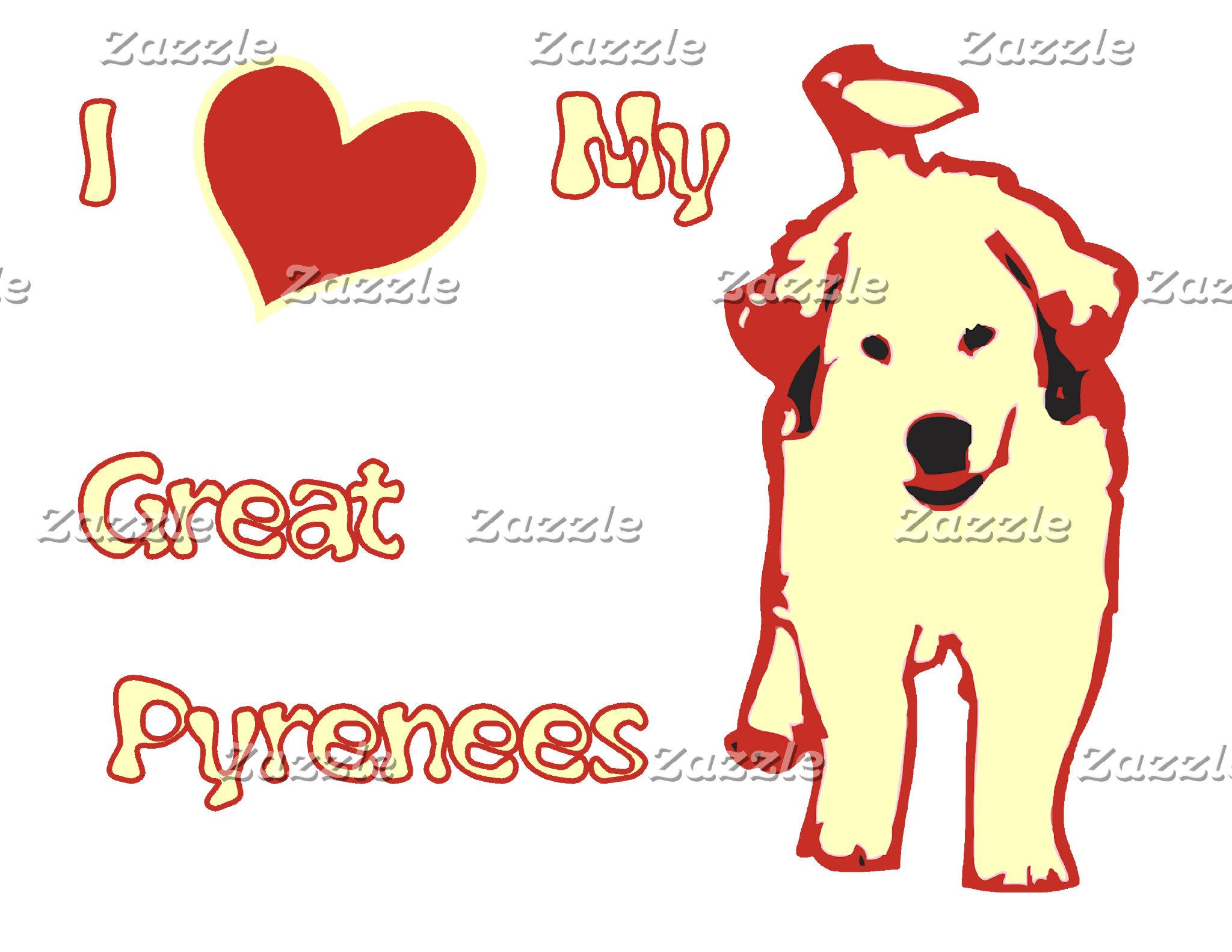 01# I Heart My Great Pyrenees