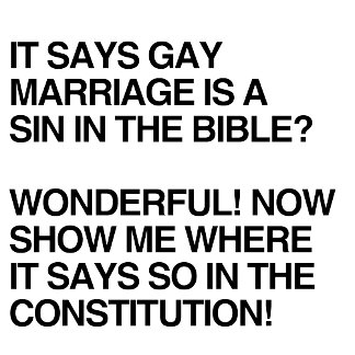 GAY MARRIAGE IS A SIN IN THE BIBLE