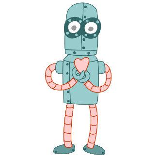 Robot Valentine Heart