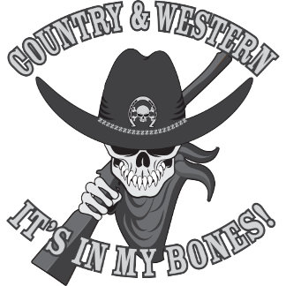 Country & Western Skull