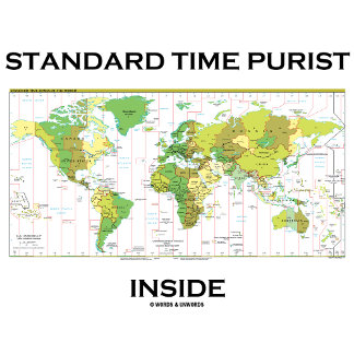 Standard Time Purist Inside (Standard Time Zones)