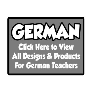German Teacher Shirts, Gifts and Apparel