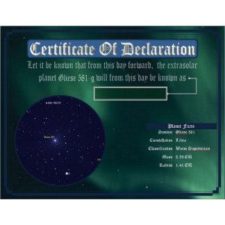 Dedicate an Exoplanet