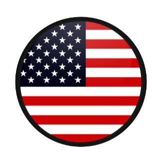 Usa quality Flag Circle
