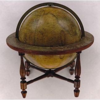 New American Thirteen Inch Terrestrial Globe