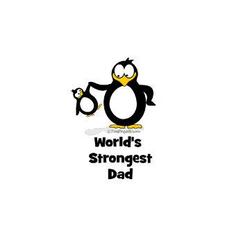 World's Strongest Dad Penguin