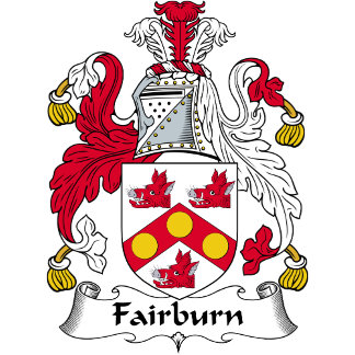 Fairburn Family Crest / Coat of Arms