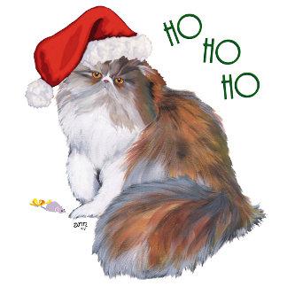 Calico Persian Cat Christmas 2 DESIGNS