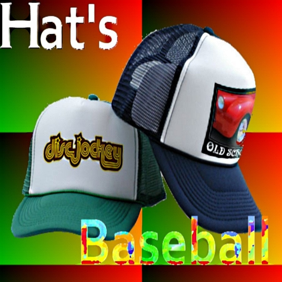 BASEBALL CAPS    Choose your own base color!