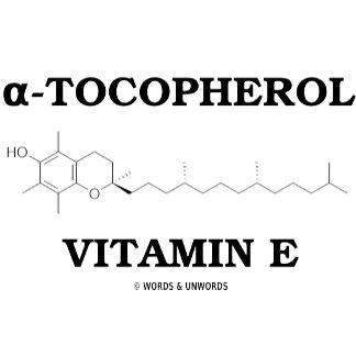 (alpha)-Tocopherol Vitamin E (Chemical Molecule)