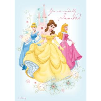 """Princess Invitation """"You are cordially Invited"""""""