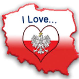 """I Love"" Heart Designs"