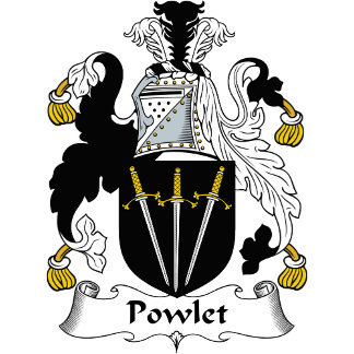 Powlet Family Crest