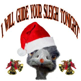 Christmas Ostrich