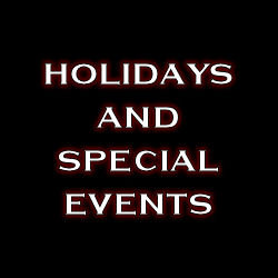 Holidays : Special Events